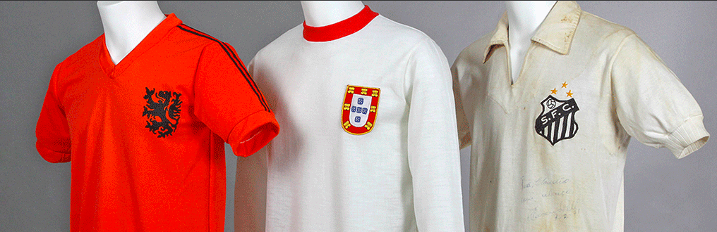 Camisetas de famosos futbolistas