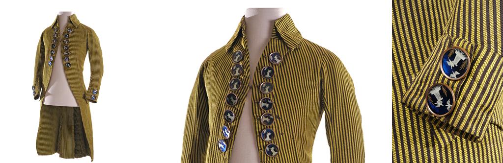 Fantasía y elegancia del vestir masculino en el siglo XVIII